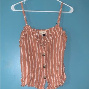 Universal Thread button-up tank top | size small